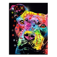 ZOOYA Diamond embroidery American Bulldog 5d diy diamond painting Cross Stitch full square drill Rhinestone mosaic decor JC(China)
