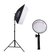 LED Multifunctional Light 70 cm Softbox Studio 144 bulbs 5500K Photographic Studio Portrait Fill Light Can be hand-held use(China)