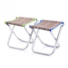 New Arrival Folding Outdoor Camping Hiking Fishing Picnic Garden BBQ Stool Tripod Chair Seat Random color