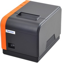 2017new wholesale high quality 58mm pos printer Appearance fashion Thermal receipt bill printer Large gear durable print head