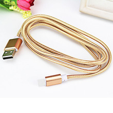 Buy millet Galaxy S4 S3 HTC Android Phone Microusb Micro USB Cable 5V 2A Quick Charge Metal Braided Cord Data Sync Wire for $1.55 in AliExpress store