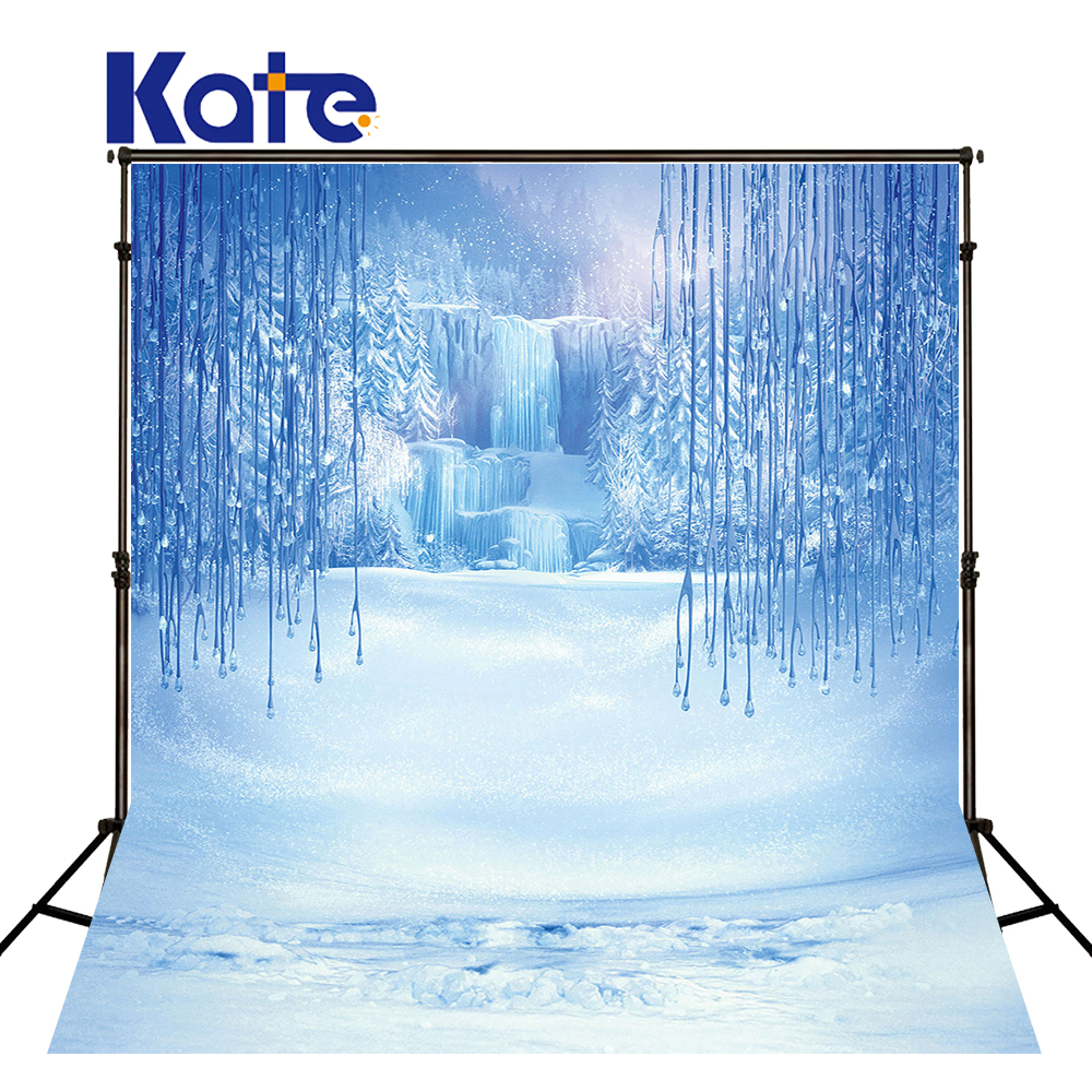 Kate 10x20ft Custom Made Sparking Backdrops Winter Snow Backgrounds For Children Toile De Fond Studio Photo Photography<br>