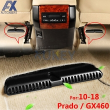 AX 2Pc For 2010-2018 Toyota Land Cruiser Prado GX460 J150 150 Under Seat Floor AC Heater Air Conditioner Duct Vent Cover Gril(China)