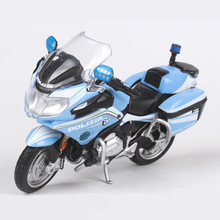 1:18 Maisto Motorcycle Car Toy Diecast & Alloy Motor Bike Model Simulation Italy Police Mini Motor Toys For Children Brinquedos