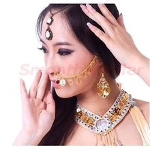 Hot Sale New Studs Gold Nose Chains For Belly Dance Dancing Jewelry