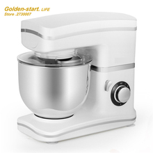 2016 New style stainless steel Knead Dough mixer machine Standard Mixer 5.5L Table Type Cooking machine