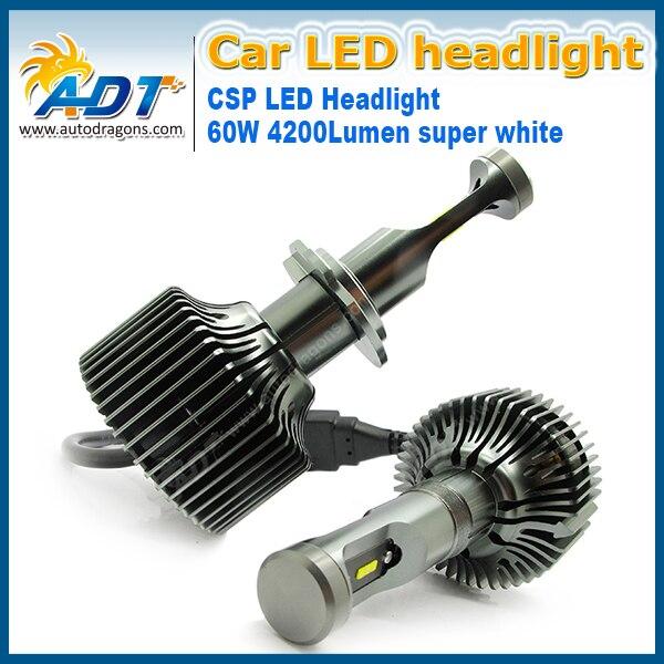 For AUDI 800/100 For Mitsubishi Pajero SPORT V33 9004 HI LOW Fan Heatsink Build-in PH-ILIPS 23W Car led headlights 4200LM White<br><br>Aliexpress