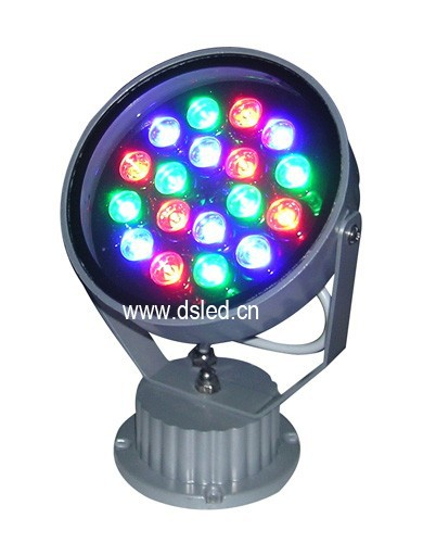 CE,IP65,good quality,high power 15W RGB LED projector light,RGB LED spotlight,DS-T05-15W,24V DC,15X1W,EDISON chip<br>