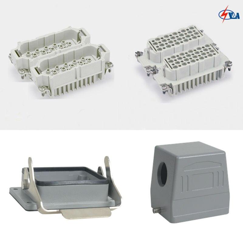 HD-080 10a 80 pins Car Styling plug Crimp heavy duty connector<br>