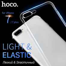 HOCO Clear Soft TPU Case for iPhone 7 & 7 PLUS Transparent Protective Original Cover Ultra thin Protection for iPhone7 + shell