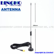 gsm dcs 900 1800 MHz Small dual band  Antenna, magnetic base antenna sma-male connector with 3M RG174/U cable