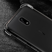 For Nokia 3 5 6 8 Air Cushion Ultra Slim Transparent Soft Shockproof Case Clear Crystal Silicone TPU Gel Full Protection Cover
