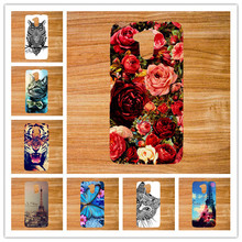 Special Blue Butterfly Style tpu Case For Acer Liquid Z410 Z 410 Best Quality Top Eiffel Tower Printing case cover For Acer Z410