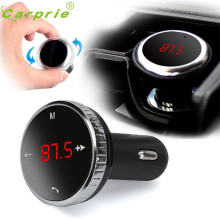Nice car-styling Black Wireless Bluetooth LCD FM Transmitter Modulator Car Kit MP3 Player SD w/Remote Oct 11