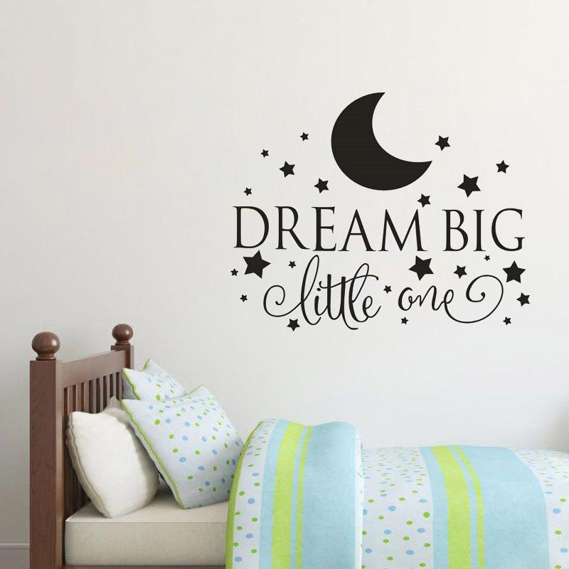 HTB14eFbSpXXXXbWaXXXq6xXFXXXy Dream Big Little One Quotes Wall Decal