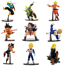 Anime Dragon Ball Figure Toys Scultures Big Goku Vegeta Trunks Cell Pan Android 18 Bardock Cool Model Dolls(China)