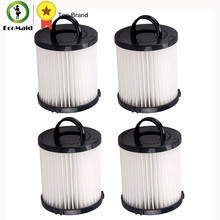 4 Eureka DCF-21 Filters Long-Life WASHABLE, REUSABLE and Allergen Filtration, Compare With Eureka DCF21 Part 68931A EF-91 EF-91B