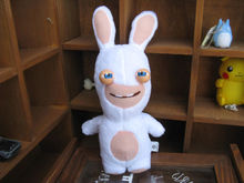 "New Rayman Raving Rabbids Cute plush toy 8.5""with voice(China)"