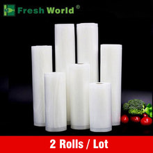 Vacuum Bags For Food Storage Vacuum Sealer Food Saver Bag 12x500 15x500 20x500 25x500 28x500 Fresh World Vacuum Packaging Rolls