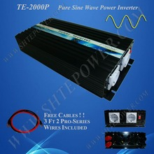12v 24v DC to AC pure sine wave power Inverter 12v 220v 2000w inverter , dc to ac Inverter