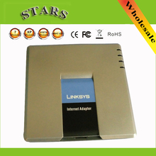 LINKSYS PAP2T-NA SIP VOIP Phone Adapter VoIP phone Linksys PAP2T Internet SPA400 4 FXO for Gateway Phone Adapter Two Phone Ports