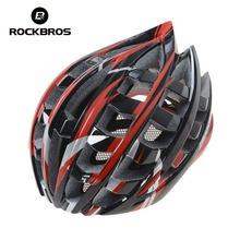 Buy ROCKBROS Cycling Bicycle Helmet Ultralight 34 Air Vents Integrally-Molded Bike Helmet Mountain Road Bike Bicycle Helmet 3 Colors for $33.59 in AliExpress store
