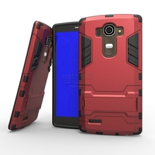 Buy New Dual Layer Hybrid Tough Rugged Armor Case LG G4 G4 Note Fundas Stand Back Cover LG Leon LTE C40 H324 Phone Bags for $3.59 in AliExpress store