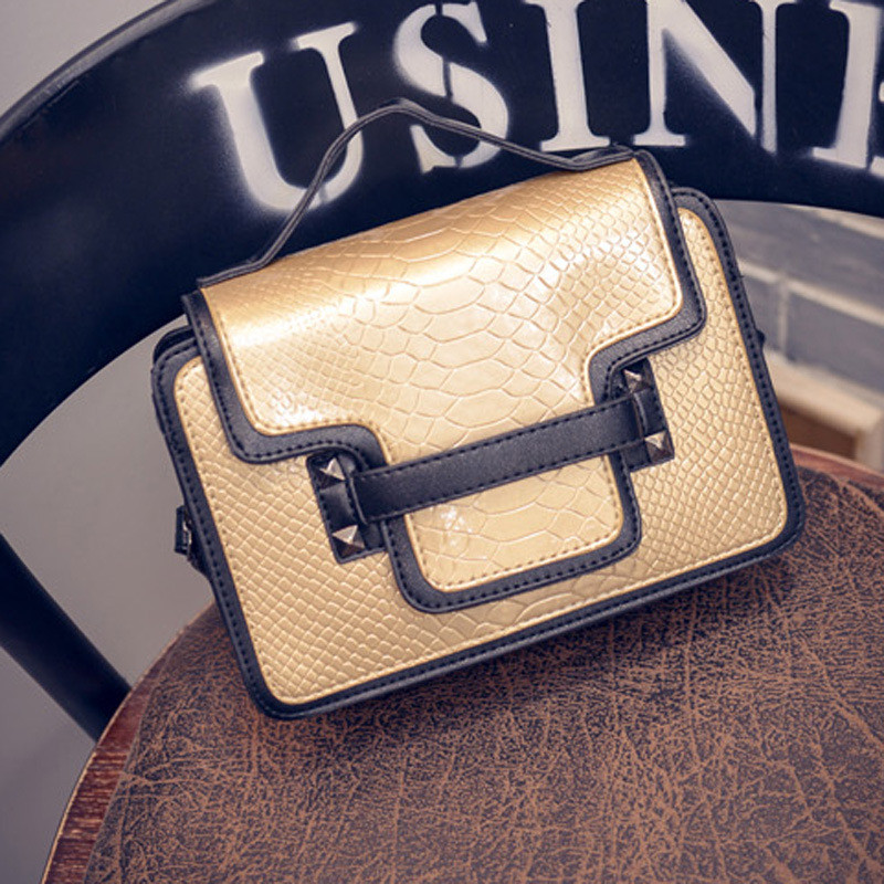 2016 New Women Handbags Crocodile Shoulder Bag Messenger Bag leather Handbags High Quality Crossbody Bags Women Handbag Purse<br><br>Aliexpress