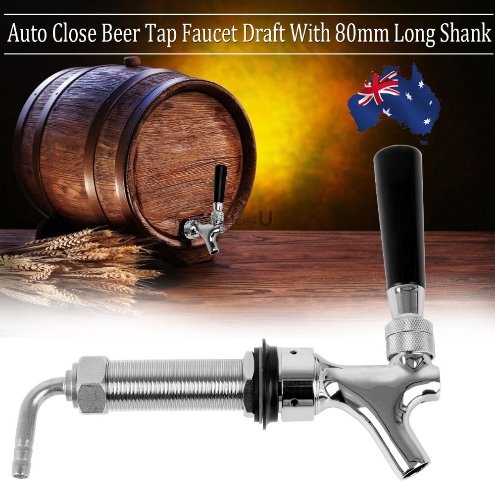 Home Auto Close Beer Tap Faucet Tap For Brew Keg Draft Beer Soda<br>