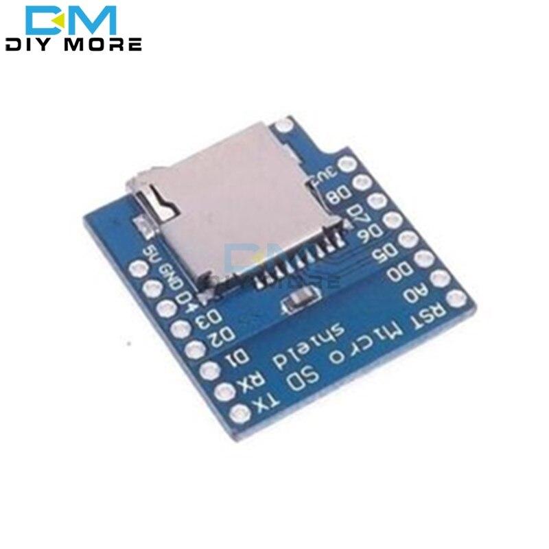 Micro SD Karten Shield Erweiterung Speicher Modul für Wemos D1 Mini kompatibel