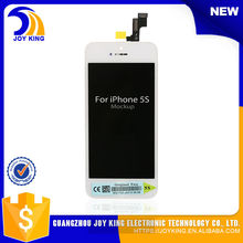 50 pcs / lot express wholesale alibaba for iphone 5s lcd digitizer + frame from China supplier Free Shipping Hot sale for 5s lcd(China)