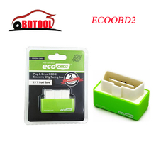 Free Shipping New Arrival Plug EcoOBD2 obdii Benzine Drive EcoOBD2 Economy Chip Tuning Box for Benzine 15% Fuel Save