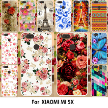Buy AKABEILA Flower Cases Xiaomi Mi A1 Case Silicon MiA1 Mi 5X Mi5X Covers TPU Soft Printed Phone Shell Phone Cover Shield Hood for $1.68 in AliExpress store