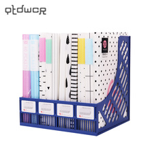 A4 20 40 Pockets Plastic Data Book Multicolor Insert Drawings Album File Folder File Product Office Supplies(China)
