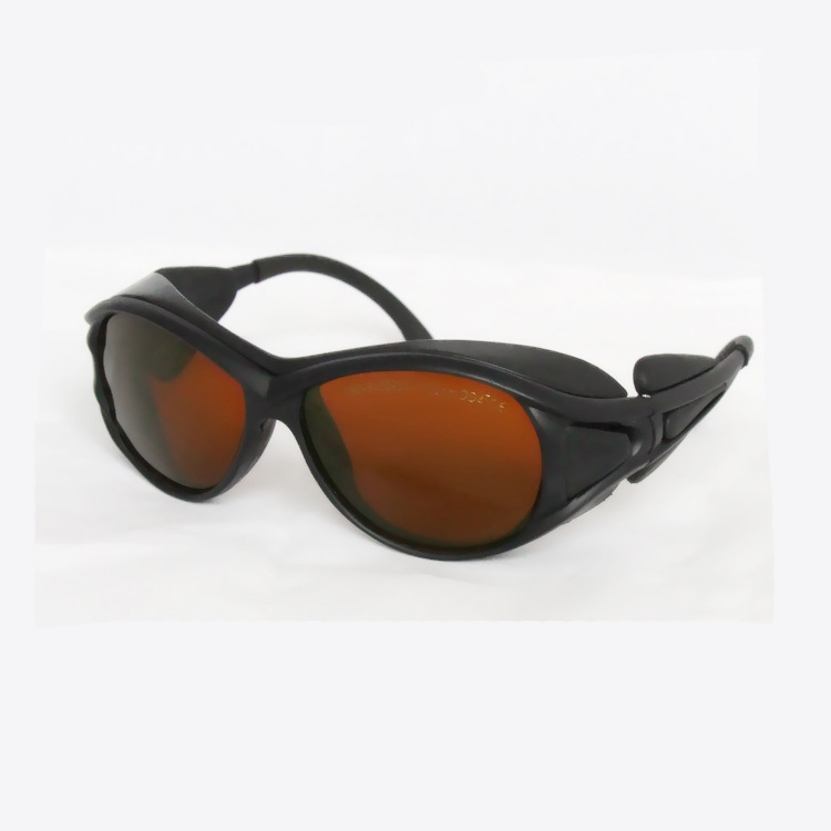 laser safety glasses O.D 4+ for 190-540nm and 900-1700nm  266,  488-514.5 441 .6 532 1064 904 980, 1510  1530,1610<br>