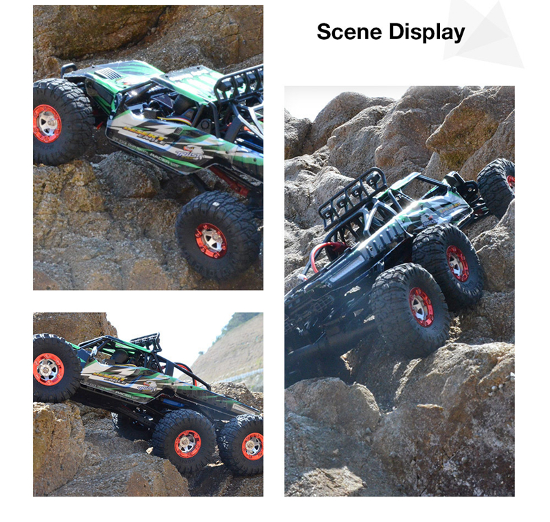 07-5 FY06FY07 112 2.4GHz 6WD RC Off-road Desert Truck RTR 60km70km High Speed Metal Shock Absorber LED Lights boy best gift toy
