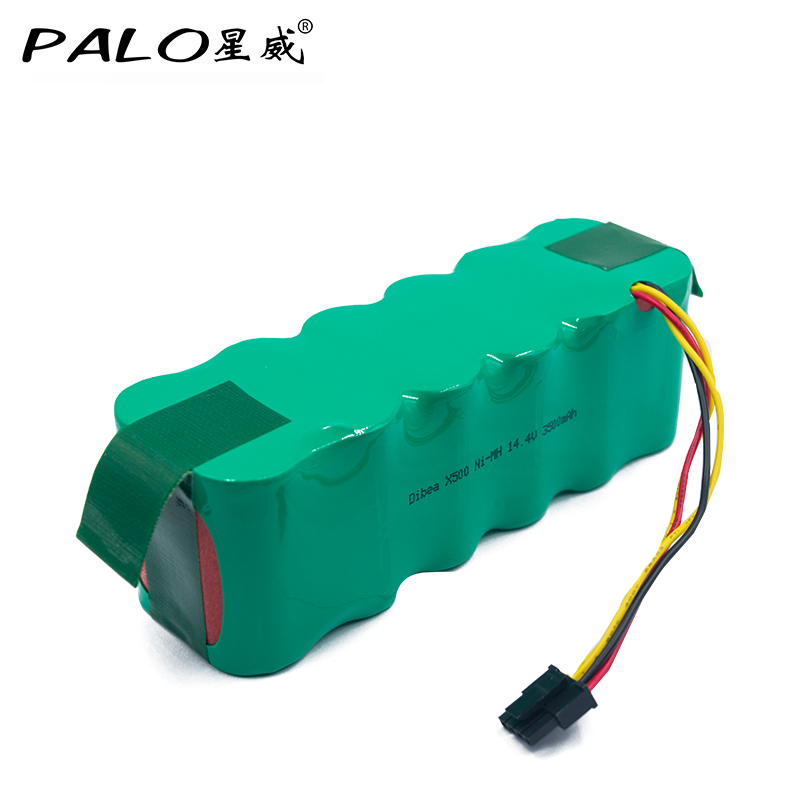 14.4V Ni-MH 3500mAh Battery Vacuum Cleaner Robot Environmentally Rechargeable Battery Pack for Dibea X500/X580 KK8 CR120 etc.<br>