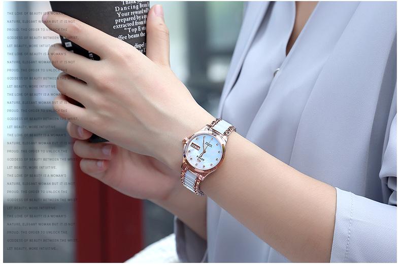 GEMAX Women Watches Waterproof Automatic Mechanical Watch Ladies Fashion Top Brand Diamond Calendar Ceramic Sapphire MIYOTA 2017 (4)