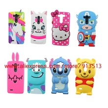 For LG G3 Case 3D Stitch Minnie Hello Kitty Sulley Tiger Batman Unicorn Silicone Phone Cases Cover For LG G3 D858 D859 D850 D855