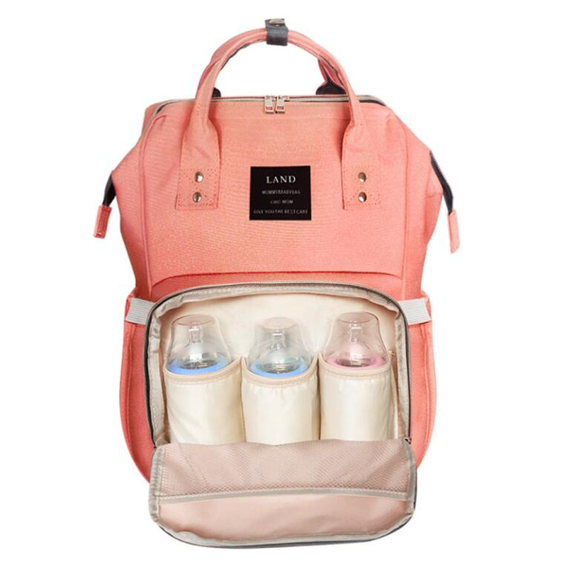 Mummy Diaper Backpack Fashionable Large Capacity Mother Bag Multifunctional Travel Baby Backpack Stroller bag Nappy Bags<br>