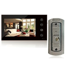 New Home Wired 7inch Color Touch Screen Video Door Phone Intercom Vandal-proof IR Door Cameras System(China)