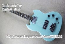 Custom Shop Chinese Musical Instrument 4 Strings SG Electric Bass Guitar China Factory In Stock For Sale(China)