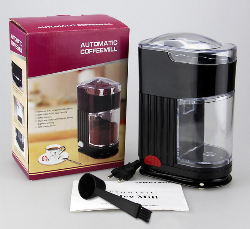 Electric Coffee Grinder machine Coffee Miller Small Type Beans Grinding Machine Dry Grinder Milling Machine<br>