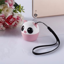 Bluetooth Wireless Cute Animal Sound Speaker Portable Clear Voice Audio Player VTB-BM6 TF Card USB Ifor Mobile PC(China)