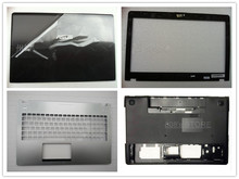 New Laptop LCD Top Back/Front Bezel/Palmrest Upper/Bottom Case Base Cover/Hinges For ASUS N56 N56SL N56VM N56V