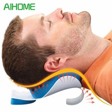 Neck Pillow, Neck and Shoulder Relaxer, Real Ease Neck Support Travel Accessories Comfortable Pillows for Sleep Home Textile(China)
