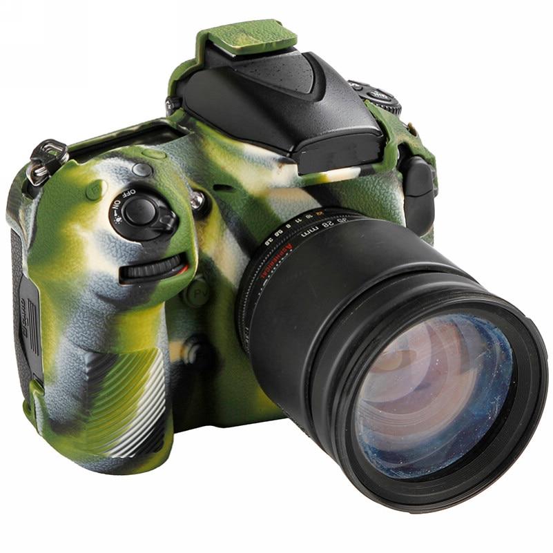Soft Silicone Rubber Camera Bag For Nikon D810 D800 D850 Protective Body Case Skin DSLR Camera Rubber Cover Bag (13)