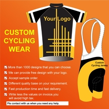OEM custom service polyester cycling uniform,DIY coolmax fabric cycling wear special men summer 1 set,cycling jersey for men(China)