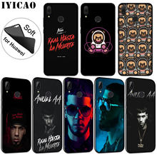 IYICAO Anuel AA Rapper Pop Soft Silicone Phone Case for Huawei P30 P20 Pro P10 P9 P8 Lite Mini 2017 2016 2015 P Smart 2019 Cover(China)
