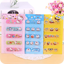 5 pcs/lot.Cute Cartoon Household Band-aid Bandage Sticker Baby Kids Care First Band Aid Travel Camping Medical Emergency Kit